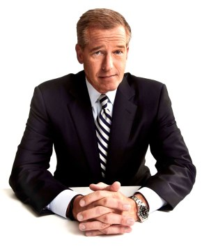 Brian Williams Suspended FromCables