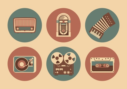 vintage-musical-objects-vector